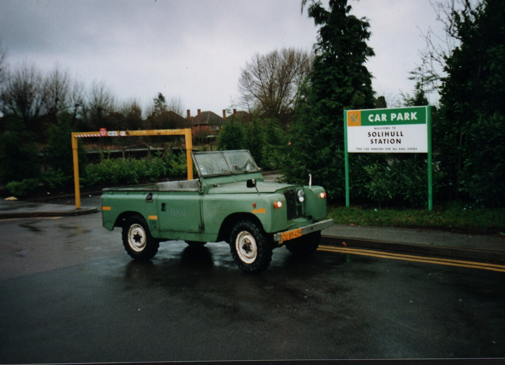 Laura the Land Rover
