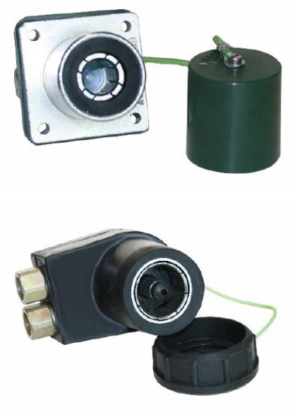 STANAG 4074 - NATO 2-pin 500A connector